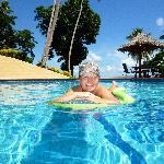 The pool at Nakia Resort & Dive