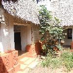 Asante buildings: Besease shrine interior