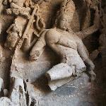 Lord Shiva dancing