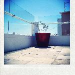 terrace and sky