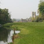 Fountains Abbey (not far away)