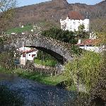 le pont romain de st étienne de baïgorry