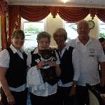 Friendly, Dining Room staff at the Durley Grange.