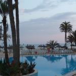 la piscine de Narjess