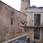 Vista desde la habitación (hacia la catedral)