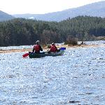 Canoeing on Loch Morlich