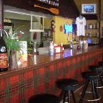 The counter/bar offers a dozen or so kinds of beer including local brews.