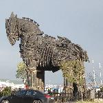 "Replica of Trojan Horse - Guide said it was the one from the move ""Troy"""
