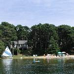 Private Beach on White Pond
