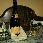 Our Champagne and Chocolates