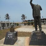 Kwame Nkrumah Statue from coup d'etat