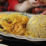 butter prawn fried rice