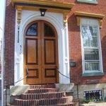 beautiful double front door