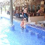 Sandy the pool bar guy