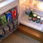 冷蔵庫に飲み物あり