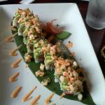 Cafe Del Mar sushi roll