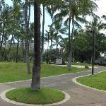 公園入り口付近