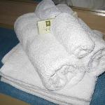 Towels & soap