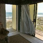 Two balconies at Surfside