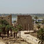 Der Luxor-Tempel, eines der touristischen Höhepunkte in Luxor