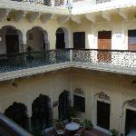 The inner court of the Haveli