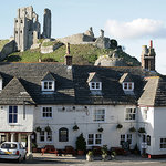THE GREYHOUND INN Corfe Castle