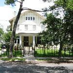 Garden District house
