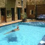 The lovely pool at Hotel Golden City
