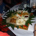 Indonesian dish, very yummy