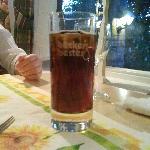 Cooles Glas für einen Jacky Cola, ansage, die Gläser sind aus.