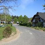 """Uno scorcio del """"villaggio"""" che compone il resort."""