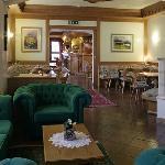 Hotel Al Polo Val di Fiemme - salotto