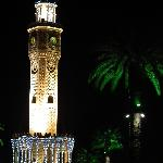 Saat Kulesi by night