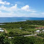 Montserrat in the distance, (26 miles away)
