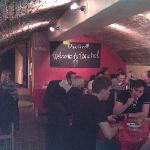 Our cellar, with a great atmosphere!