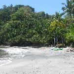 The private beach alone was worth it