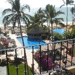 View of the Pool Palapa and restraunt