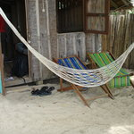 Opt for a bungalow with a hammock :-)
