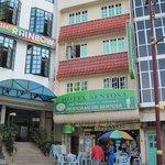 the hotel- Sentosa Hotel