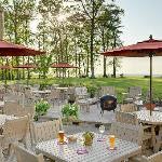The Terrace Grille for outdoor dining