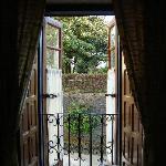 """Balcón de la habitación """"Antonio Vivaldi"""""""