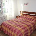Aperçu d'une chambre lit double + lit simple