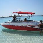 excursion en bateau sur ile déserte