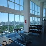 31st Floor Gymnasium with great views