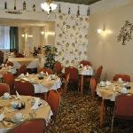 This is our beautifully decorated Dining Room where you can enjoy a leisurely breakfast every mo