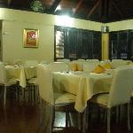 Inside Chino Restaurant just below the Hotel - Town of Samana