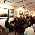 Kunzum Travel Cafe: Delhi Drum Circle performing