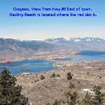 Destiny Beach Resort Location in Osoyoos - Away from the crowded hotel strip