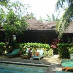 Restaurant from back pool