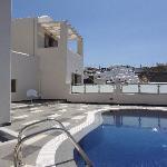 private swimming pool for Grande Suite